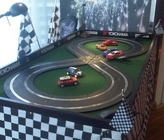 Mini Scalextric Track Hire