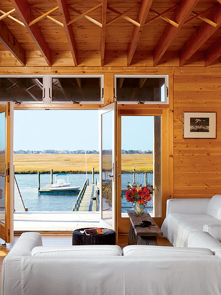 Coastal Living on the water