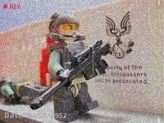 New Alexandria (Benny Brickster) Tags: new alexandria john tank lego chief ghost halo pelican scorpion master armor reach spectre spartan warthog 117 wraith covenant mjolnir unsc flickraward
