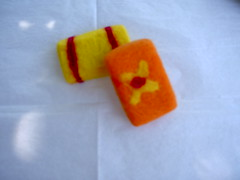 soap bar hand made and felted    www.zibbet.com/beautifulforest (BeautifulForest) Tags: flowers girls wool fashion felted handmade teenagers merino teen favors soapbar