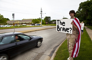 "Anti-Torture Vigil - Week 50: ""The Brave?"""