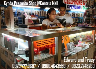 Store Location: Kyndapresenta- 2nd floor Gadget Central Centris Station, corner EDSA Quezon Ave MRT
