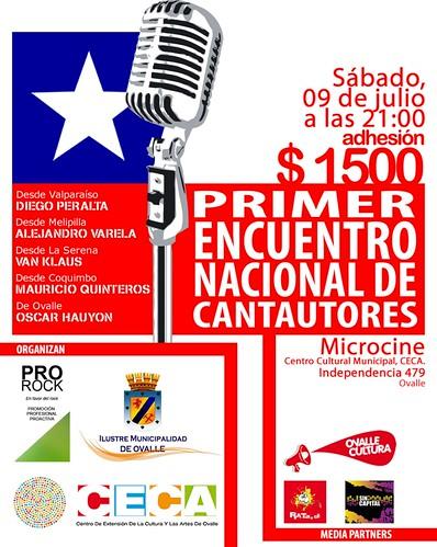 Primer Encuentro Nacional de Cantautores. Ovalle, 2011 by Oscar Hauyon