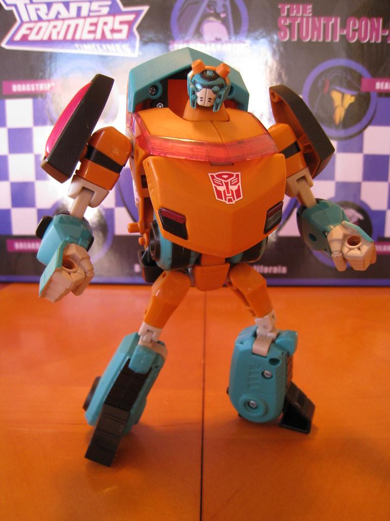 Ironfist (Fisitron) - Robot mode