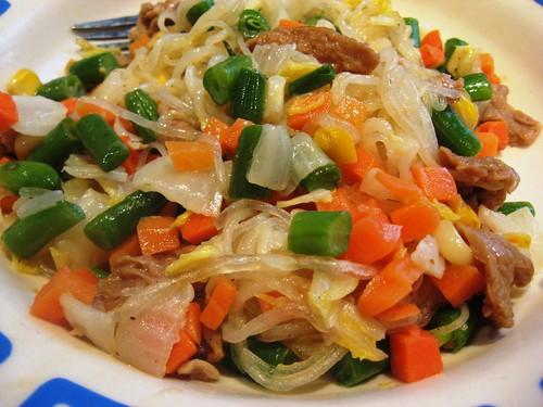 Vegetarian Mung Bean Noodles