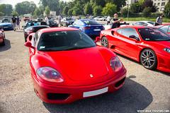 Cars & Coffee Paris 07/2013 - Ferrari 360 Modena (Deux-Chevrons.com) Tags: ferrari360modena ferrari 360 modena 360modena