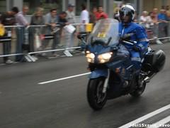 Gendarmerie (Xavier_15) Tags: barcelona espaa france de spain tour bcn police frana transit ciclismo ciclista francia policia kawasaki vuelta francesa trafico agrupacion unidad gendarmerie franaise gendarmeria