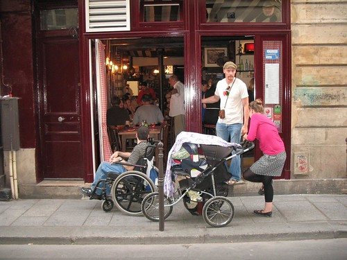 Every restaurant graciously fit us in, no matter how cramped the seating, although sometimes we had to fold and store the stroller