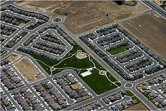 new development in Merced County, CA (by: Matt Bearup)