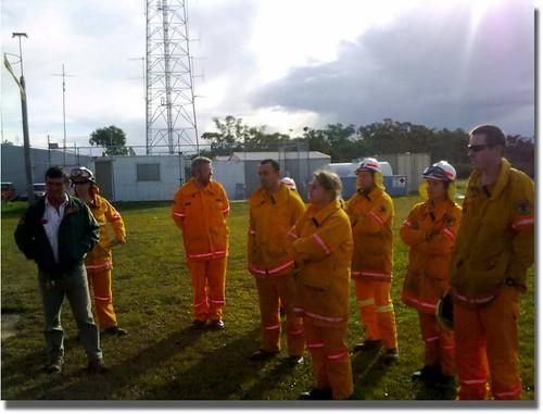 The training crew