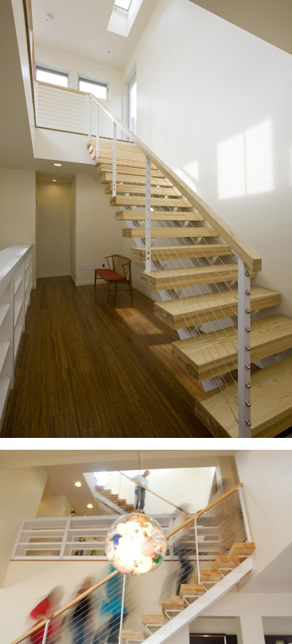 06 MKSolaire Eco Friendly House - Staircase Design