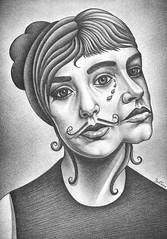 CocoRosie (Ben Heine) Tags: girls portrait musician music woman usa detail look amsterdam sisters hair stars drums sadness concert twins doll tears shadows sad percussion duo rosie group traditionalart creative band siamese voice oeil moustache together coco geisha singer success glance depth gemini connection cocorosie larmes fminin vibration originality pencildrawing snor poupe chanteuse childrenstoys soeurs incest beatbox larme profondeur voix artoriginal royalconcertgebouworchestra touchandgorecords benheine musicalact geysha sierrarosecasady biancaleilanicasady hairnetparadisecom thecocorosiesisters exoticnoisemaker fashionladies womenduo expressiveglamour