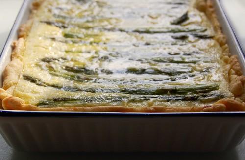 asparagus & potato tart 1