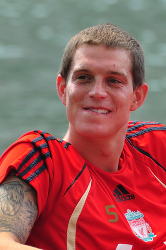 daniel agger tattoo. Daniel Agger flaunted his