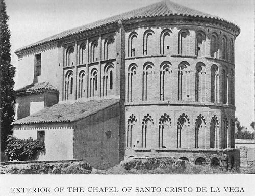 Ábside de la ermita del Cristo de la Vega (Toledo) hacia 1900