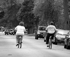 Day212-365project (AHummons Photography) Tags: life old city family people urban blackandwhite woman chicago man black male love monochrome bike bicycle female fun living healthy community couple exercise african secret joy riding relationship together elderly age older april africanamerican blackpeople lives southside activity embrace 365dayproject auburngresham hummons