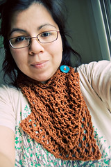 365.213: completed mustard scarf