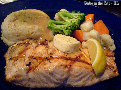 Grilled Salmon Steak RM35