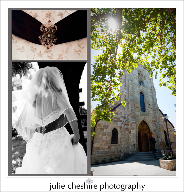 Wedding at St. Helena Catholic Church, Culinary Institute of America ...