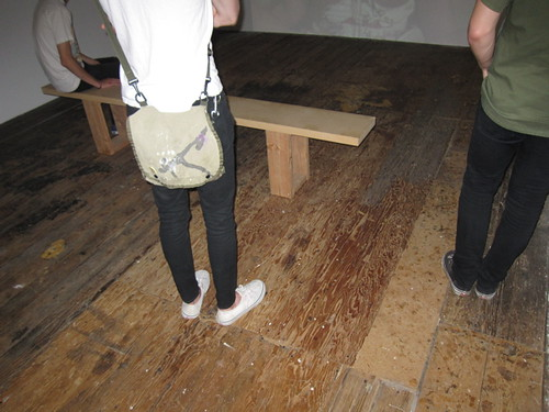 Gallery Floor on which Mission Hipsters Stand