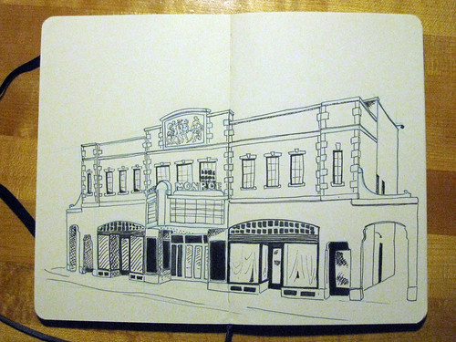Monroe Ave sketch