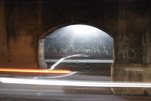 v is for versimilitude