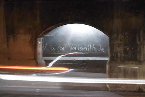 v is for versimilitude