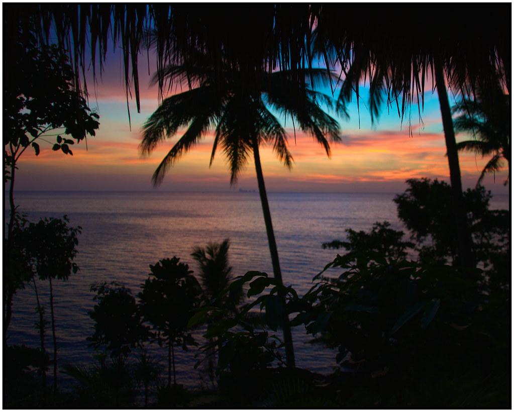 Sunset @ Narima Resort, Koh Lanta
