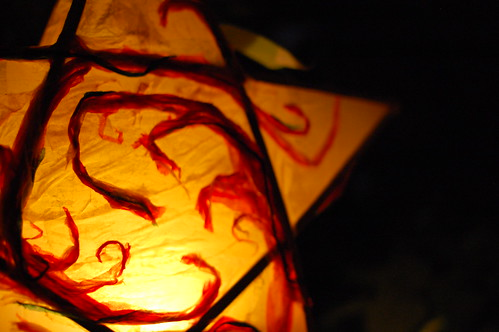 swirly lantern
