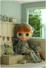 It's a happy day ^-^ (megipupu) Tags: miniature doll handmade blythe hybrid dollhouse megipupu misssallyrice