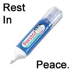 Rest In Peace (SKIRT CHASER ONER) Tags: whiteout jumbo pentel presto