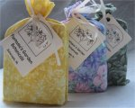 Fruit, Flower & Herb - handmade artisan soap - three bar collection