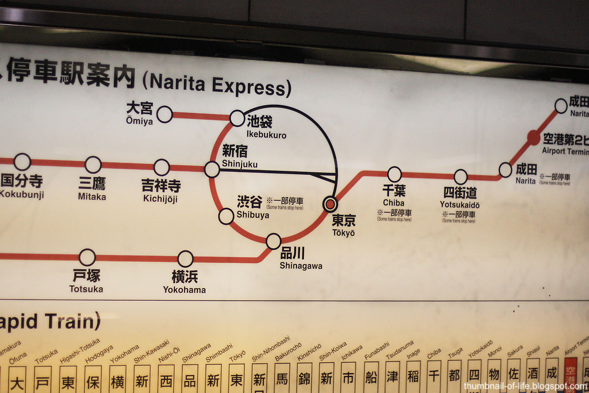 Narita Express Line
