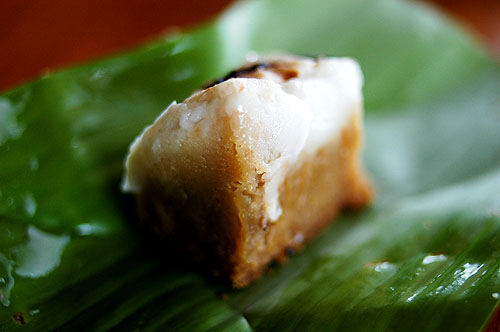 Peng mong, a Shan/Thai Yai sweet, Mae Hong Son