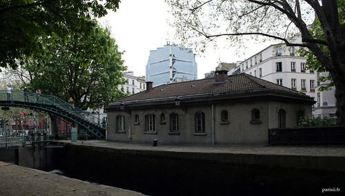 Locaux du personnel du Canal Saint-Martin?