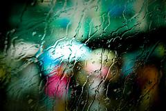 Hong Kong (Ariel G!) Tags: hk window water rain hongkong droplets hong kong umbrellas