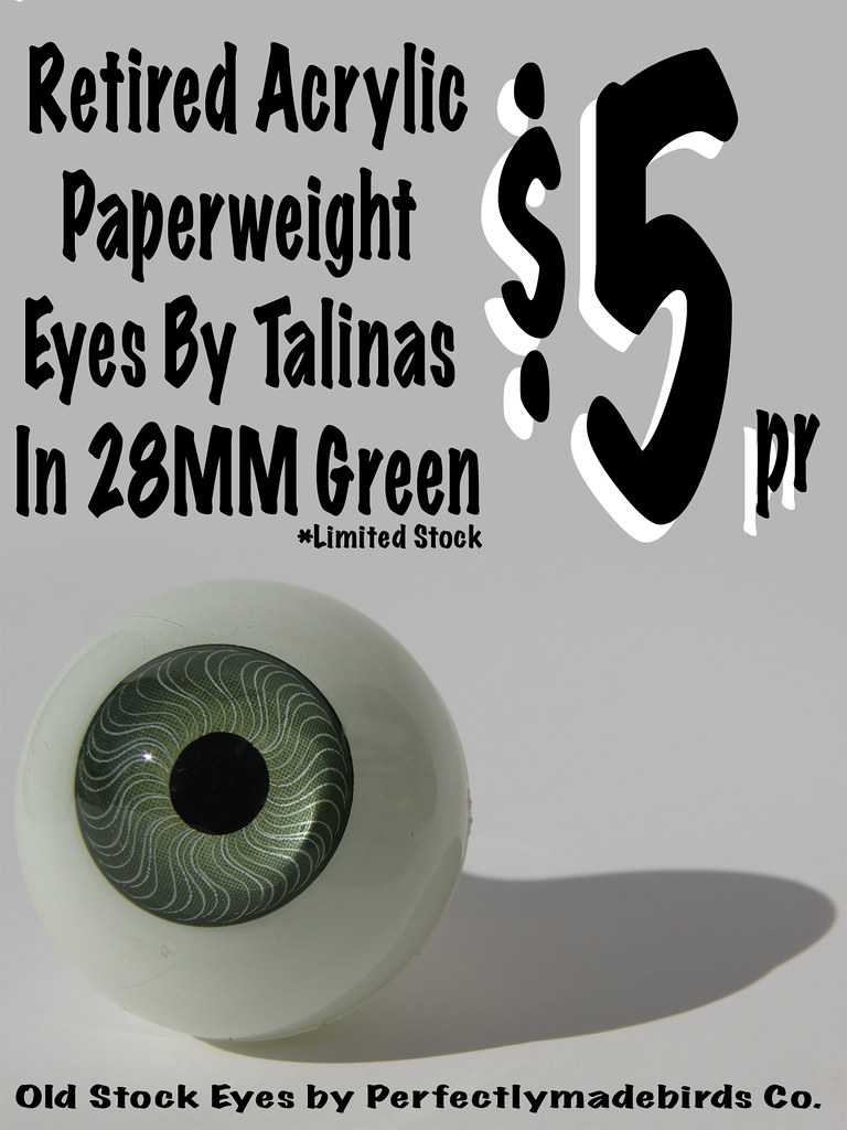 Paper Weight Eyes