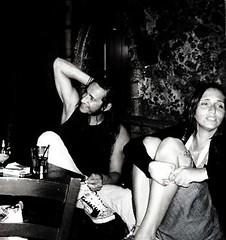 Angelica&Domenico (giacco77) Tags: face donna nikon bn ombre uomo coolpix bianco nero notte faccia contrasto