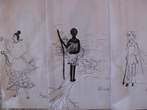 Asia Africa Australia