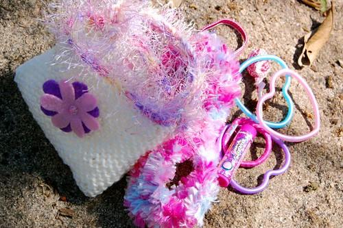 scrappy purse
