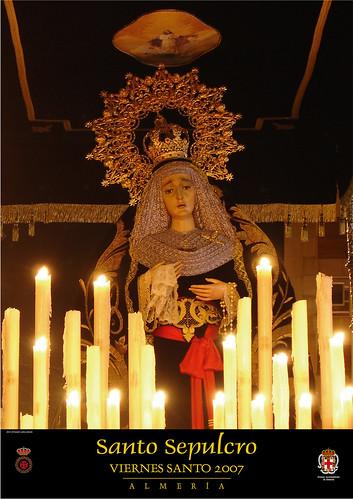 Cartel Semana Santa 2007 Cofradía del Santo Sepulcro