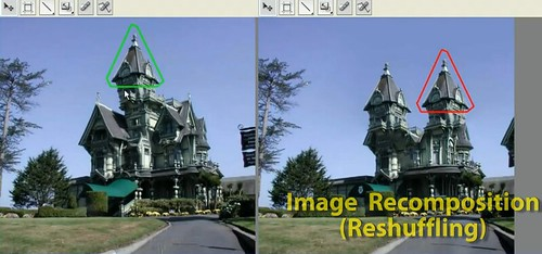 Image recomposition in Adobe Photoshop CS5