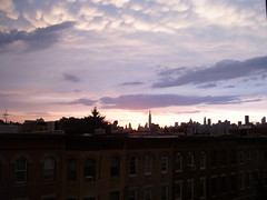 Gorgeous sunset (yankeesmann1918) Tags: nyc sunset skyline clouds thunderstorm mammatus