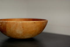 simplicity (mcgillies) Tags: old kitchen wooden counter bowl simplicity simple