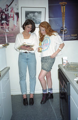 80s Party (Joe Shlabotnik) Tags: 2000 christine 80sparty april2000 eightiesparty faved saral 76throad