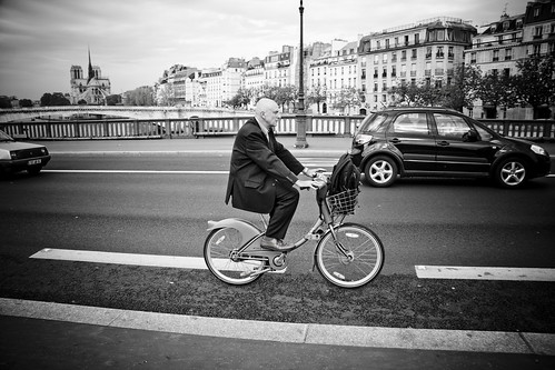 Paris Cycle Chic - Gentlemen