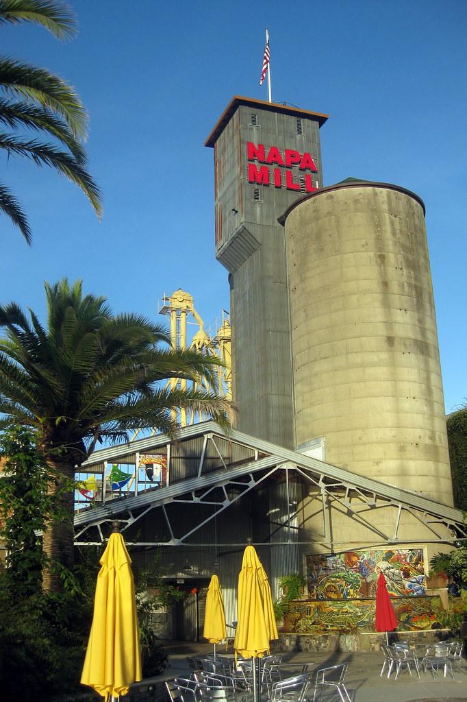 California - Napa: Hatt Mill Building