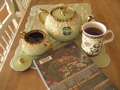 Tea & Time to Read (AGA~mum) Tags: tea books teatag