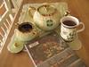 Tea & Time to Read (AGA~mum) Tags: tea books teatag