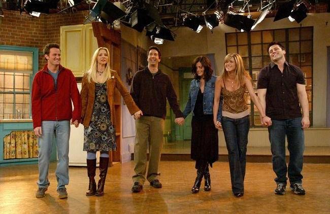 Friends-Rachel, Joey, Ross, Monica, Chandler, Phoebe